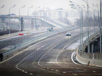 Дорога, эстакада, мост