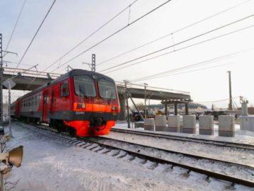 Железнодорожный переезд в Новой Москве