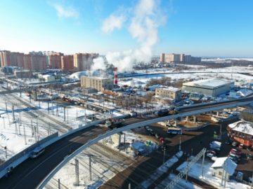 Собянин открыл путепровод в Щербинке