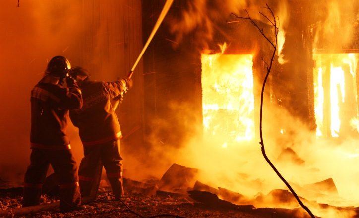 Пожар в Новой Москве