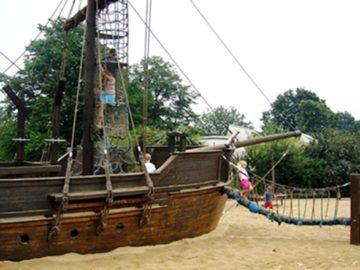 Гигантский корабль-веранду с горками установят в поселении Роговское в ТиНАО