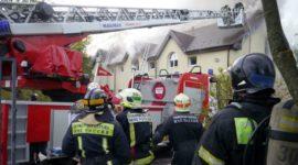 Пожар в здании следственного отдела СК по ТиНАО локализован