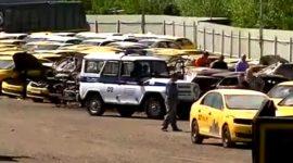 Пожар произошел на парковке в ТиНАО, повреждены 28 автомобилей