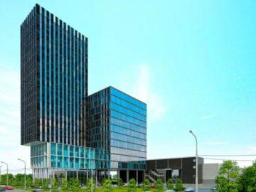 В Новой Москве появится офисно-гостиничный комплекс с гигантской консолью