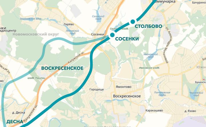 Портал Стройкомплекса рассказал о линии метро до Троицка
