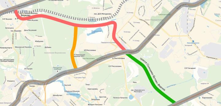 Две четырехполосные дороги соединят Минское и Боровское шоссе