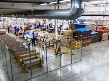 Новый комплекс предприятия по производству дверей открыли в ТиНАО