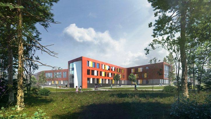 Школу в Троицке возведут по индивидуальному проекту