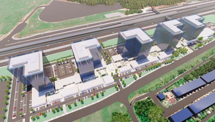 В Прокшино появится городской променад с деловой и торговой функцией