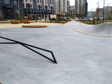 В ЖК «Испанские кварталы» открылся скейтпарк