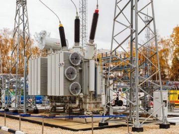 Собянин провел запуск новой электроподстанции «Хованская» в ТиНАО