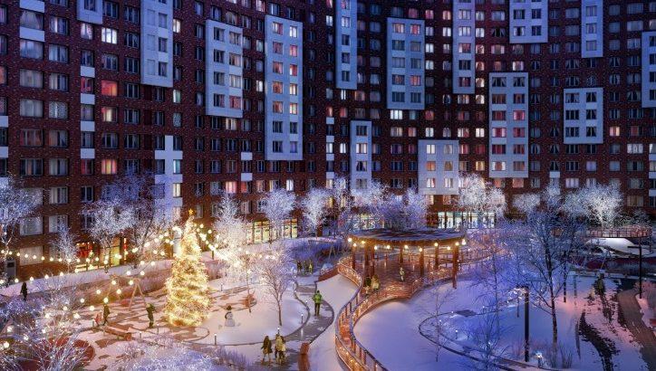 В ЖК «Румянцево-Парк» стартовали предновогодние акции с выгодой до 1 млн руб.