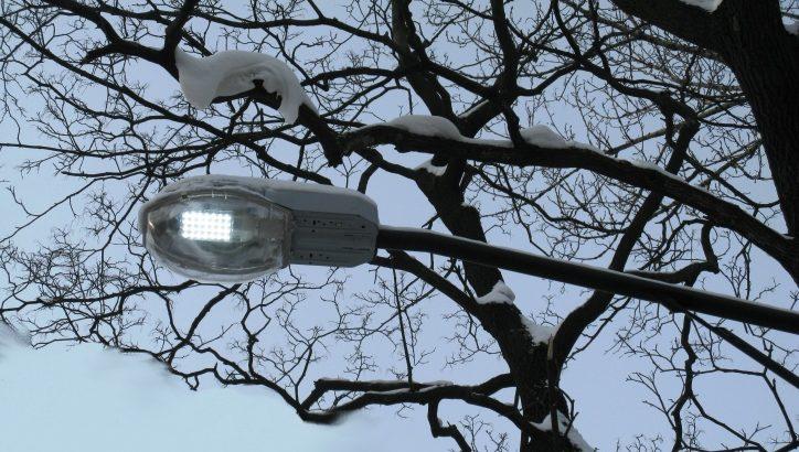 Более 20 фонарей со светодиодными лампами установили на улицах пос. Рязановское