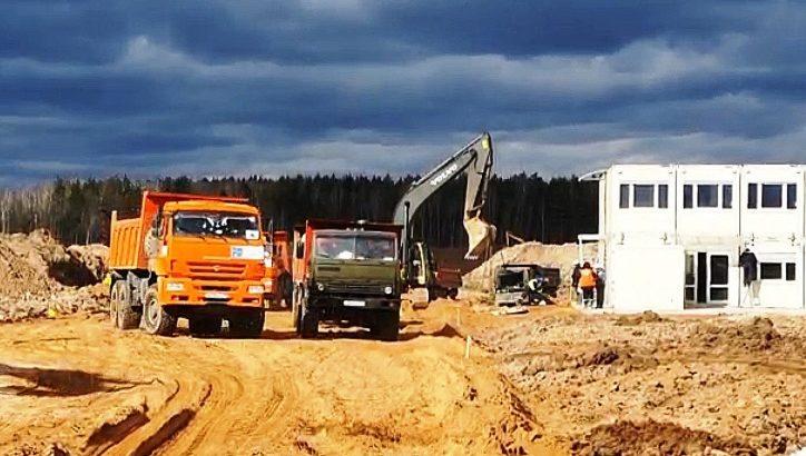 Более 3 тыс. специалистов задействованы в строительстве инфекционного центра в ТиНАО