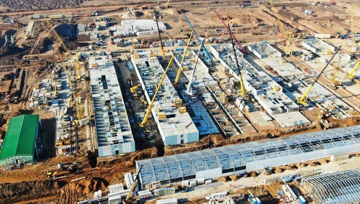 Строительство инфекционного центра в ТиНАО ведется круглосуточно