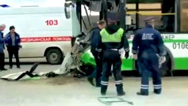 Два человека пострадали в ДТП на Калужском ш. в ТиНАО