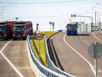 Открыто движение по дорогам Марьино - Саларьево и МКАД - Коммунарка