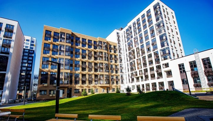 Два дома в ЖК «Скандинавия» получили адреса