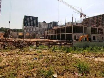 Мосгосстройнадзор выявил нарушения мер профилактики COVID-19 при строительстве школы в ТиНАО