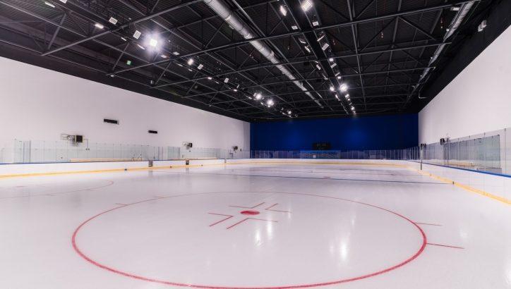 Ледовый тренировочный центр «Снегирь» сдадут в этом году. Хоккей, каток