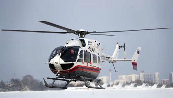 Пять вылетов совершено МАЦ с начала мониторинга паводковой ситуации в ТиНАО. Вертолеты