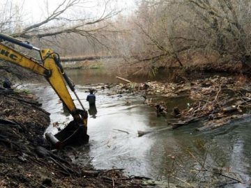 Паводок. Работы по очистке русел рек в ТиНАО завершат в течение недели