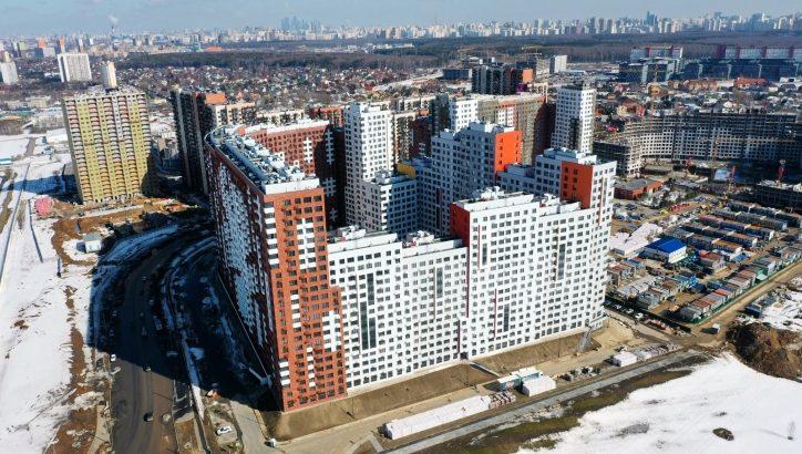 Дом в ЖК «Румянцево-Парк» введен в эксплуатацию