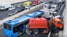 10 человек пострадали в аварии на Боровском шоссе