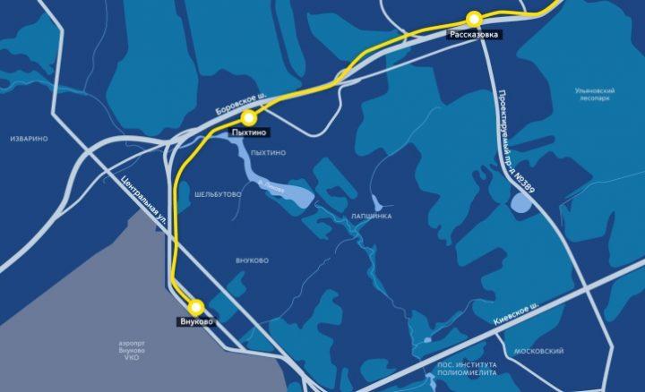 Тоннель между станциями метро «Пыхтино» и «Рассказовка» пройден почти наполовину