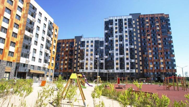 Два корпуса построили в жилом комплексе «Кленовые аллеи» в ТиНАО