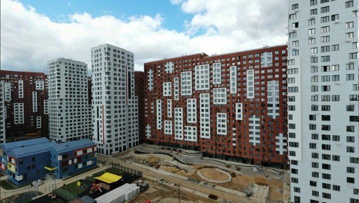 Завершается строительство второго корпуса ЖК «Румянцево-Парк» на 676 квартир