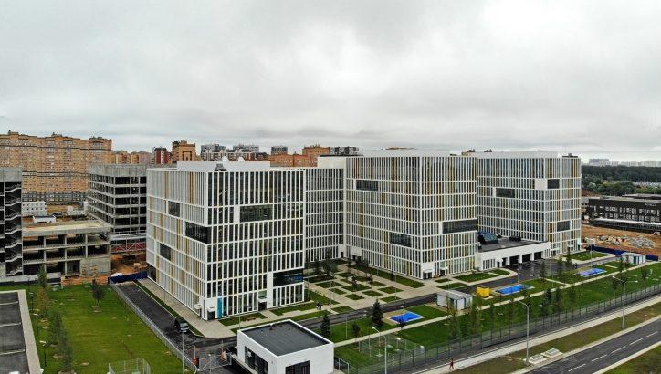 К 2035 г. в ТиНАО появится 125 новых объектов здравоохранения. Коммунарка, больница