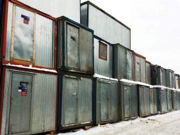 ОНФ просит власти разобраться с самостроями под окнами домов в ТиНАО. Бытовки, мигранты