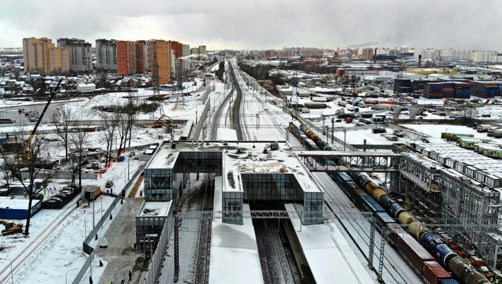 Станцию МЦД-2 «Остафьево» обеспечили подъездными дорогами