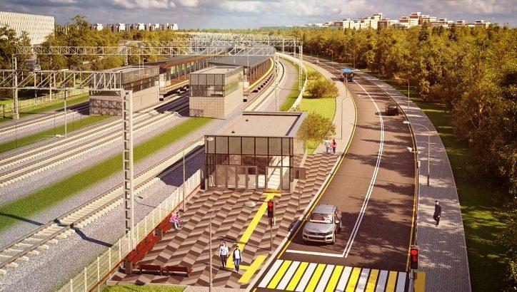 Станцию Санино на Киевском направлении МЖД откроют в начале года