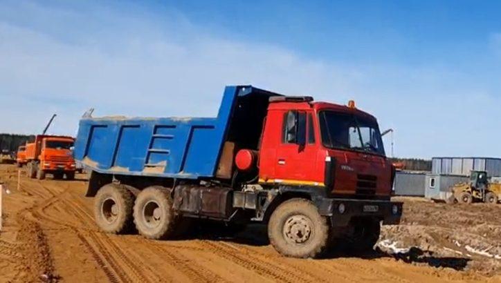 Водителей призвали объезжать стороной участок Калужского ш. в ТиНАО