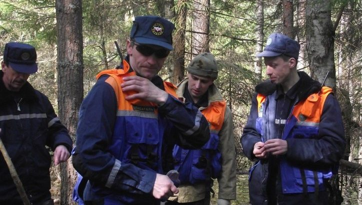 Столичные спасатели нашли заблудившихся в лесу в ТиНАО четырех пенсионеров. МЧС