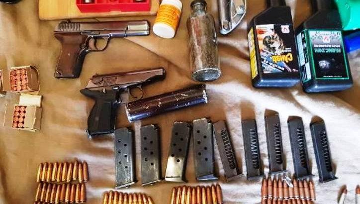 В Новой Москве задержан подозреваемый в хранении оружия, пистолет, патроны, наркотики