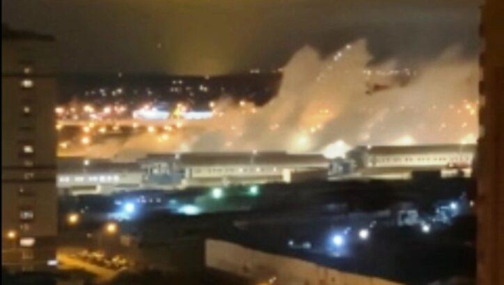 Разрыв кислородного трубопровода произошел в больнице в Коммунарке
