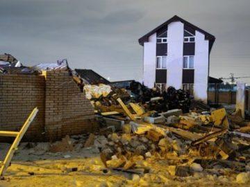 Обрушение частного дома произошло в ТиНАО из-за взрыва газа