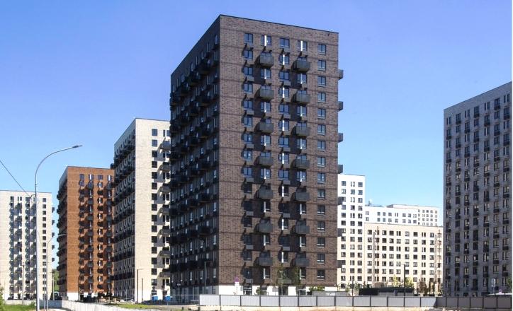 Строительство корпуса на 135 квартир завершено в ЖК «Саларьево парк»